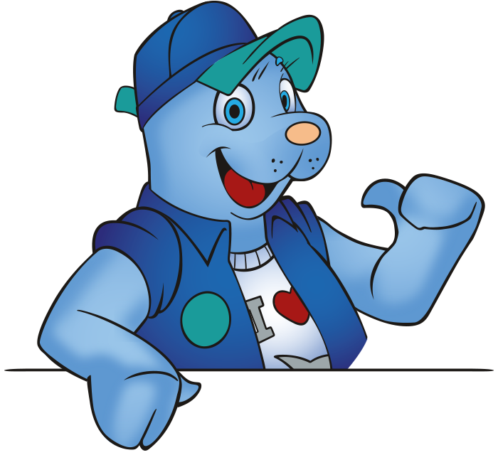 Olaf, de mascotte van Neeltje Jans